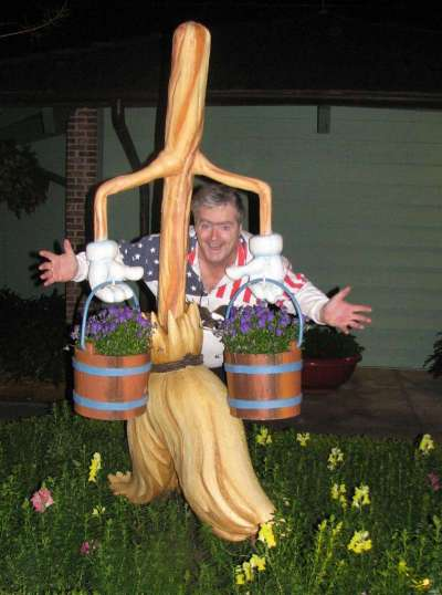 Just a silly moment at Downtown Disney
